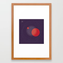 RADIATA Framed Art Print