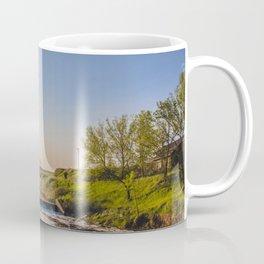 Dam on Painted Woods Creek, North Dakota 3 Coffee Mug