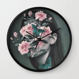 Inner beauty Wall Clock