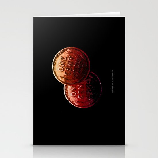 Just My 2 Cents    0008 Stationery Cards