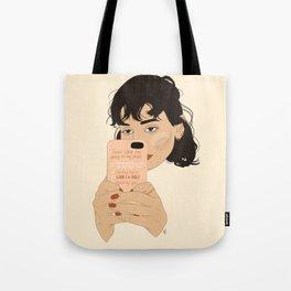 Ignoring you... Tote Bag
