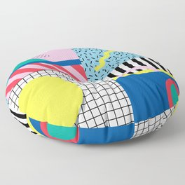 Memphis Party Floor Pillow