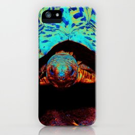 Space Turtle iPhone Case