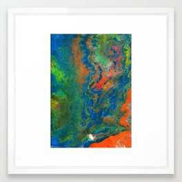 Color Fall #2 Framed Art Print