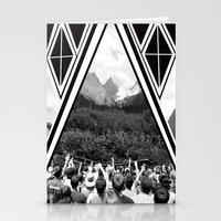 concert Stationery Cards featuring Mountain Concert by Claire Lester