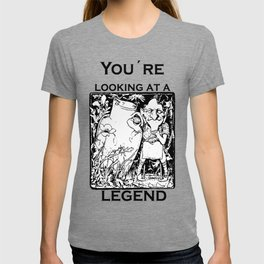 You're Looking At A Legend St Patricks Day Clurichaun T-shirt