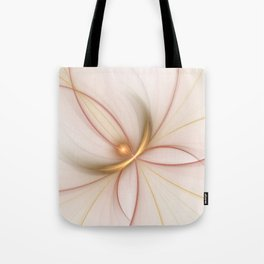 Nobly In Gold And Copper, Fractal Art Tote Bag