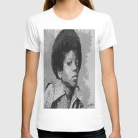 mike wrobel T-shirts featuring Little Mike by JeleataNicole