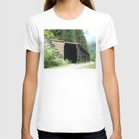 john snow T-shirts featuring Snow Shed by NoelleB