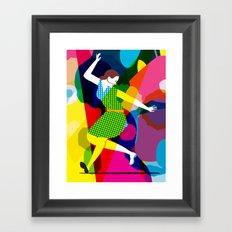 Tap Dancer Like No Other Framed Art Print