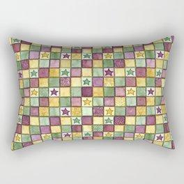 Fun squares Rectangular Pillow