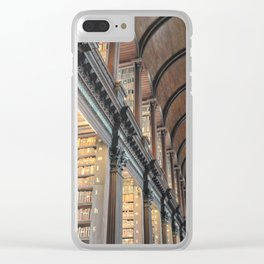 Trinity College Library Clear iPhone Case