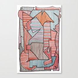 Bridget Riley Canvas Print