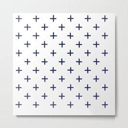 Sashiko 1 Metal Print