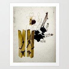 oink - oil? oink - oil? Art Print