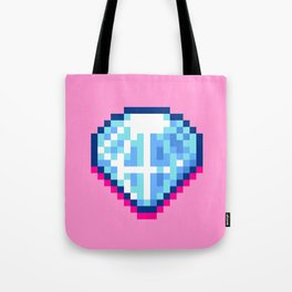 Pixel Diamond Tote Bag