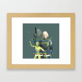 ^_^ Framed Art Print
