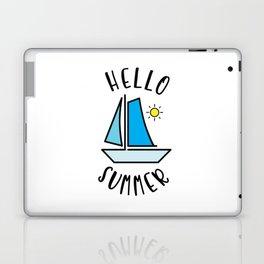 Hello Summer Sailing Laptop & iPad Skin