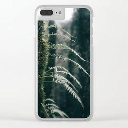 Ferns VI Clear iPhone Case