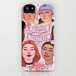 Stronger Together 2019 iPhone Case