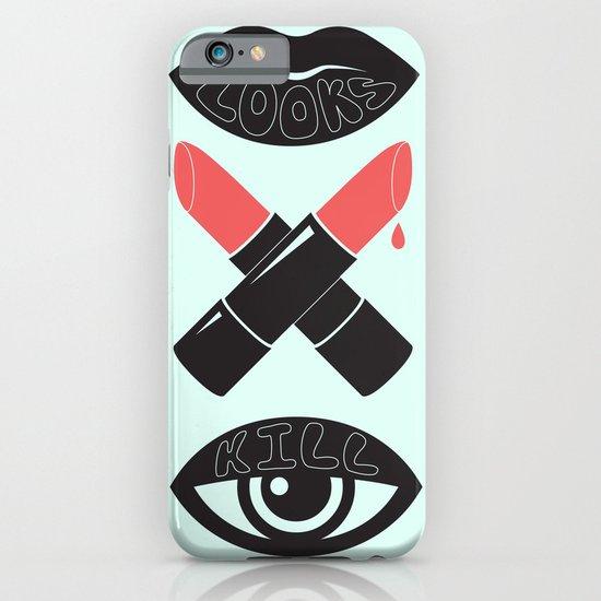 LOOKS KILL iPhone & iPod Case