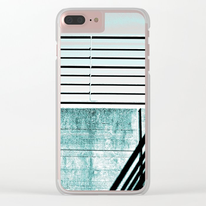 #158 Clear iPhone Case