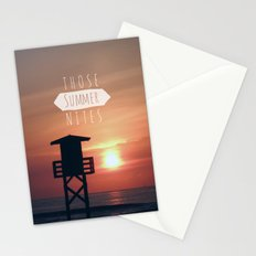 Those Summer Nights (Reprise) Stationery Cards