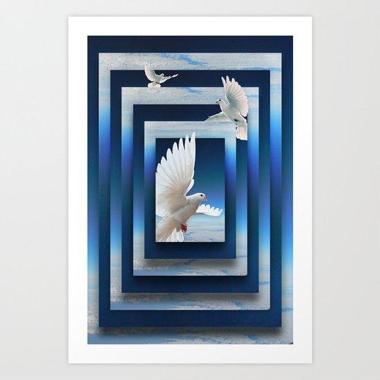 Soar the Skies Art Print