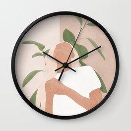 Gracefully Wall Clock