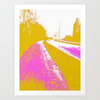 road Art Prints featuring Road by Mr and Mrs Quirynen