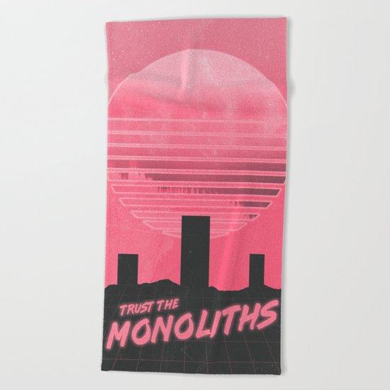 Monolithic Trust Beach Towel