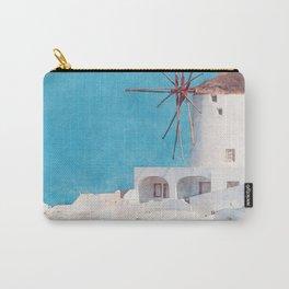 Mediterranean journey-Santorini Carry-All Pouch