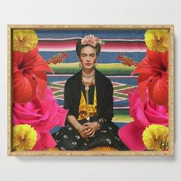 Frida Kahlo Folclore Serving Tray