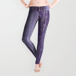 Purple Woodland Leggings