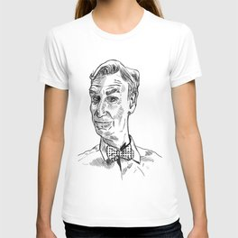 Bill Nye Portrait T-shirt