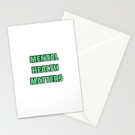 Mental Health Matters  Stationery Cards