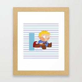 i for infante Framed Art Print