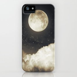 Touch of the moon I iPhone Case