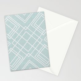 Squares II Stationery Cards