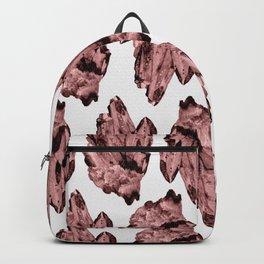 bubblegum crystal cluster Backpack