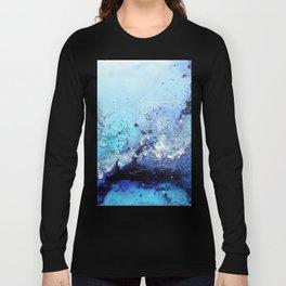 Bermuda Paradise Mixed Media Painting Long Sleeve T-shirt