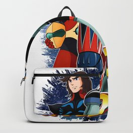 Goldorak (Grendizer) with Actarus (Duke Fleed) Backpack