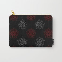 Anti Possession Pattern Dual Glow Carry-All Pouch