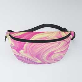 Liquid Marbled paint Fanny Pack