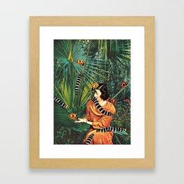 NATIVE SPECIES Framed Art Print