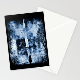 rain walker redux Stationery Cards