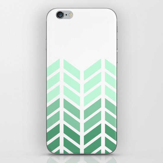OMBRE LACE CHEVRON iPhone & iPod Skin