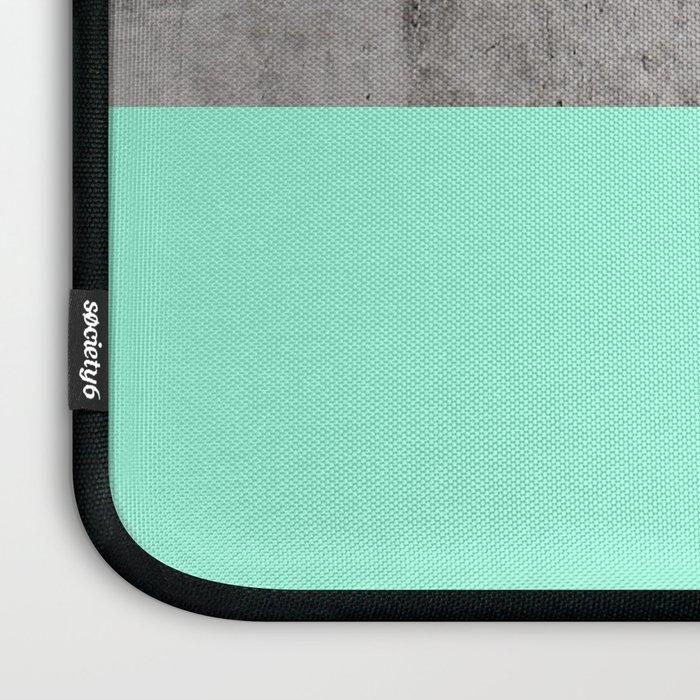 Sea on Concrete Laptop Sleeve