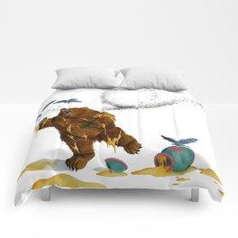 Honey Bear Comforters