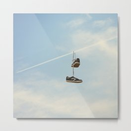 Hang'n there - Skyline Metal Print